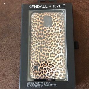 iPhone X Case Kendall and Kylie